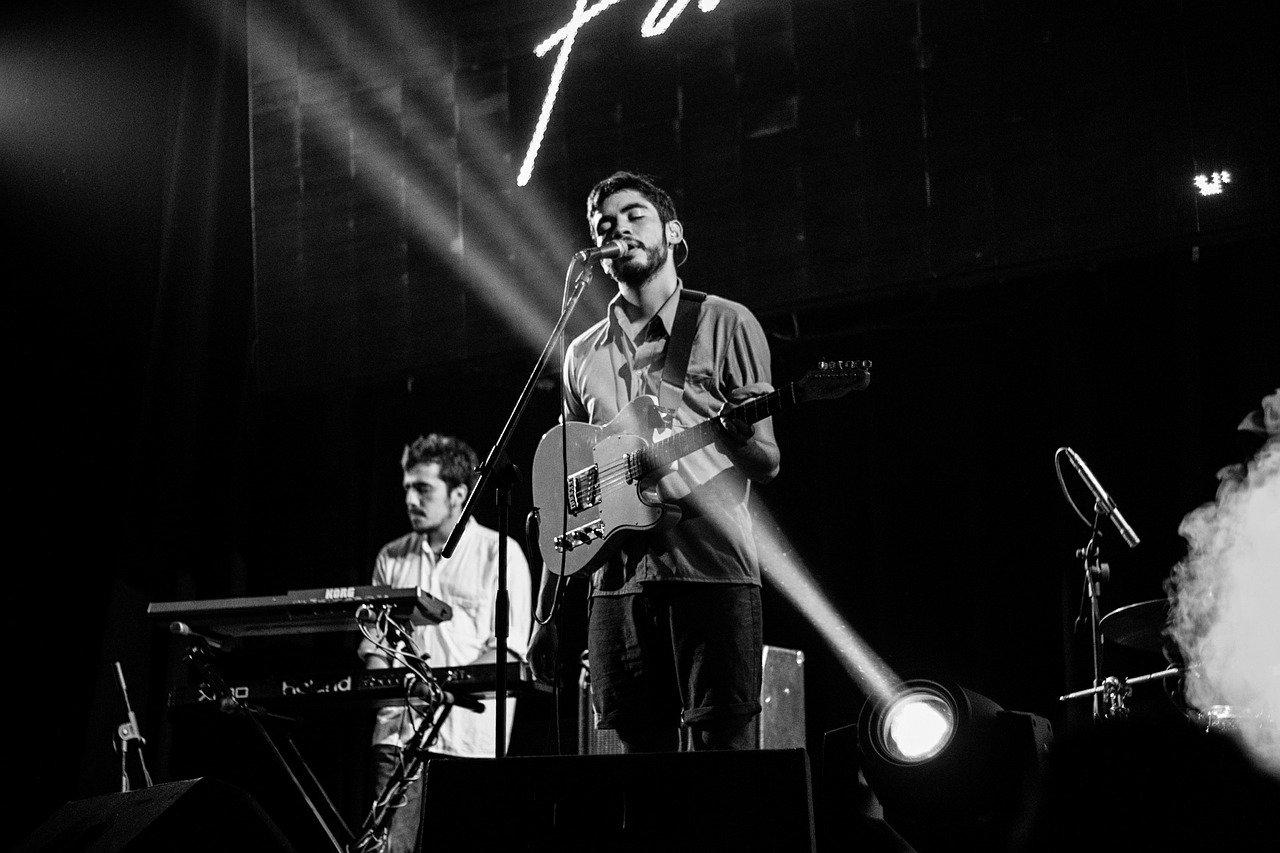lead singer, stage, performance